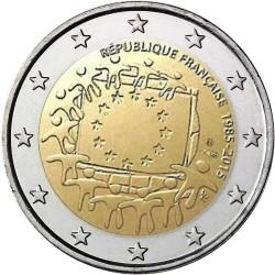Frankrijk 2 euro 2015 'Europese Vlag' UNC