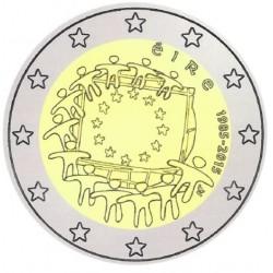 Ierland 2 euro 2015 'Europese Vlag' UNC