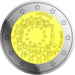 Letland 2 euro 2015 'Europese Vlag' UNC