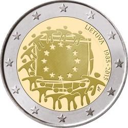 Litouwen 2 euro 2015 'Europese Vlag' UNC