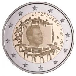 Luxemburg 2 euro 2015 'Europese Vlag' UNC