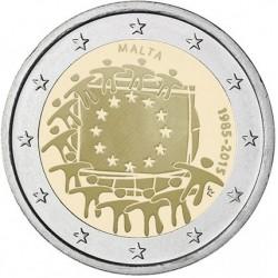 Malta 2 euro 2015 'Europese Vlag' UNC