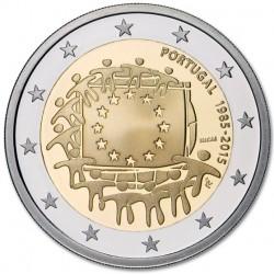 Portugal 2 euro 2015 'Europese Vlag' UNC