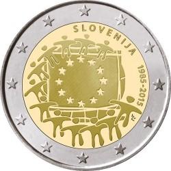 Slovenie 2 euro 2015 'Europese Vlag' UNC