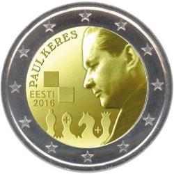 Estland 2 euro 2016 'Paul Keres' UNC