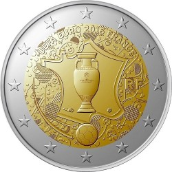 Frankrijk 2 euro 2016 'EK Voetbal' UNC