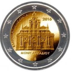 Griekenland 2 euro 2016 'Arkadi Klooster' UNC