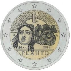 Italie 2 euro 2016 ´Tito Maccio Plauto' UNC