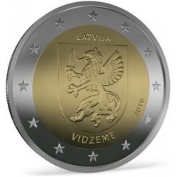 Letland 2 euro 2016 'Vidzeme' UNC