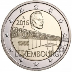 Luxemburg 2 euro 2016 'Charlottebrug' UNC