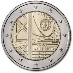 Portugal 2 euro 2016 '50 jaar van 25 april Brug' UNC