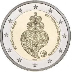 Portugal 2 euro 2016 'Rio de Janeiro' UNC