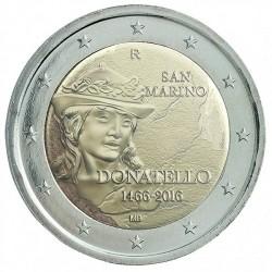 San Marino 2 euro 2016 'Donatello´ BU in blister