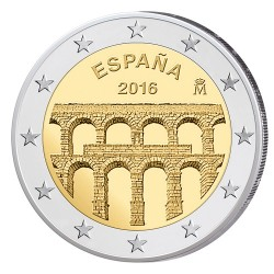 Spanje 2 euro 2016 'Aquaduct Segovia' UNC