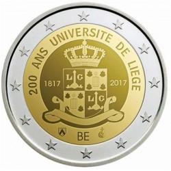 Belgie 2 euro 2017 'Universiteit van Luik' UNC