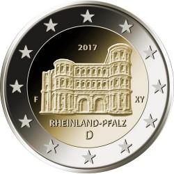 Duitsland 2 euro 2017 'Rheinland Pfalz - Porta Nigra' ADFGJ UNC