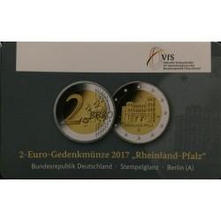 Duitsland 2 euro 2017 'Rheinland Pfalz - Porta Nigra'  in coincard A (Berlin)