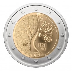 Estland 2 euro 2017 'Weg naar Onafhankelijkheid' UNC