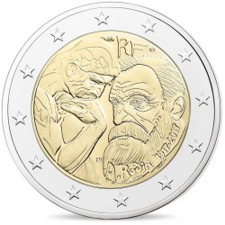 Frankrijk 2 euro 2017 'Auguste Rodin' UNC