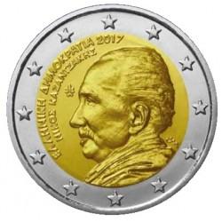 Griekenland 2 euro 2017 'Kazantzakis' UNC
