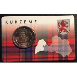 Letland 2 euro 2017 'Kurzeme' in coincard