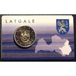 Letland 2 euro 2017 'Latgale' in coincard