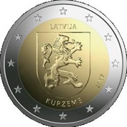 Letland 2 euro 2017 'Kurzeme' UNC