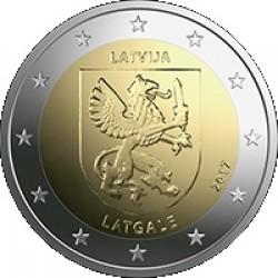 Letland 2 euro 2017 'Latgale' UNC