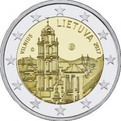 Litouwen 2 euro 2017 'Vilnius' UNC