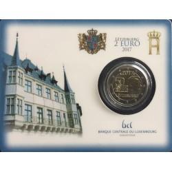 Luxemburg 2 euro 2017 'Vrijwillige leger' BU coincard