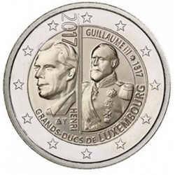 Luxemburg 2 euro 2017 'Willem III' UNC