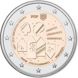 Portugal 2 euro 2017 '150 jaar Openbare Veiligheid' UNC