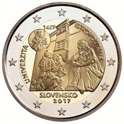 Slowakije 2 euro 2017 'Istropolitana Universiteit' UNC