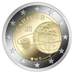 Belgie 2 euro 2018 'ESRO-2B Satelliet' UNC