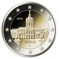 Duitsland 2 euro 2018 ´Berlijn - Schloss Charlottenburg' UNC