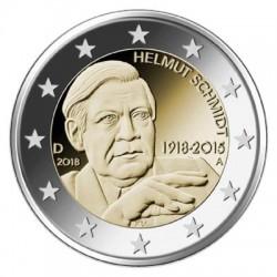 Duitsland 2 euro 2018 ´Helmut Schmidt' UNC
