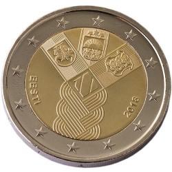 Estland 2 euro 2018 'Baltische Staten' UNC
