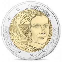 Frankrijk 2 euro 2018 Simone Veil UNC