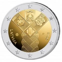 Letland 2 euro 2018 'Baltische Staten' UNC