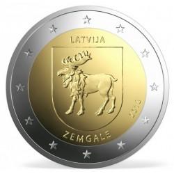 Letland 2 euro 2018 'Zemgale' UNC