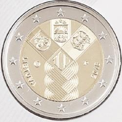Litouwen 2 euro 2018 'Baltische Staten UNC