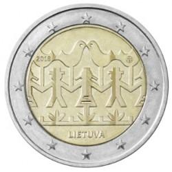Litouwen 2 euro 2018 Zang en Dans UNC