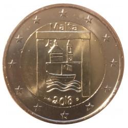 Malta 2 euro 2018 'Cultural Heritage' UNC met Frans muntteken