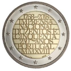 Portugal 2 euro 2018 'Nationale Drukkerij' UNC