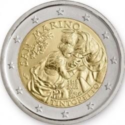 San Marino 2 euro 2018 'Tintoretto´ BU in blister