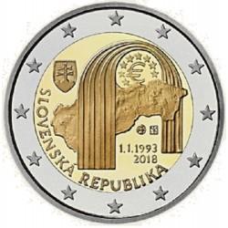 Slowakije 2 euro 2018 'Republiek Slowakije' UNC