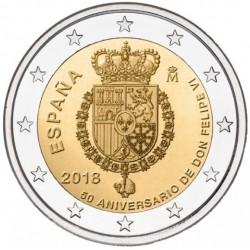 Spanje 2 euro 2018 'Koning Felipe VI' UNC