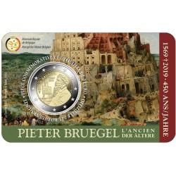 Belgie 2 euro 2019 Pieter Bruegel - BU Coincard