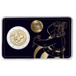 Frankrijk 2 euro 2019 Asterix BU in coincard 2 (Obelix)