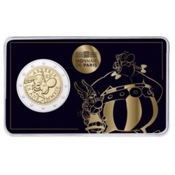 Frankrijk 2 euro 2019 Asterix BU in coincard 3 (Asterix & Obelix)